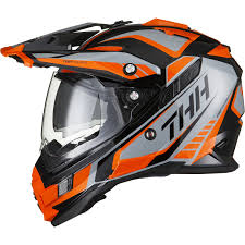 thor helmet motocross thh tx 27 3 tourer dual sports mx helmet motocross off road quad