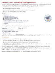tutorial netbeans y mysql testwww creating a custom java desktop database application
