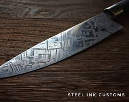 custom japanese kitchen knives chef knife etsy