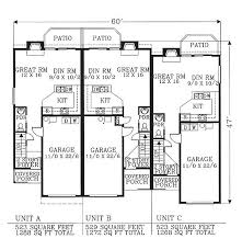 Multi Family House Plans Triplex 116 Best Apartments Images On Pinterest Architecture Small