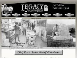 legacy headstones information about legacyheadstones 199 00 headstones for