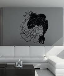 vinyl wall decal sticker koi fish yin from stickerbrand quick full size full size