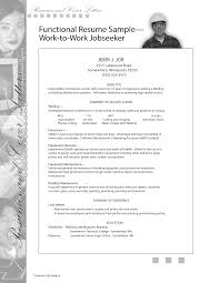 Functional Resume Template Sales Building Maintenance Engineer Resume Sample Http Www