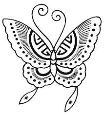 dessins de papillons à imprimer
