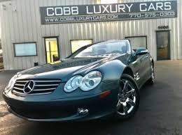 mercedes roswell ga used mercedes sl class for sale in roswell ga 45 used sl
