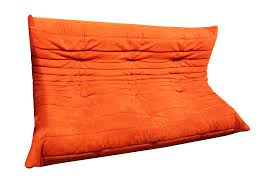Home Decor Liquidators Locations Ligne Roset Orange Togo Sofa Chairish