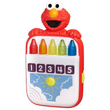 playskool sesame street steps elmo u0027s count crayons toy