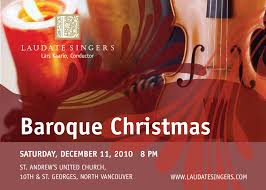 lexus west vancouver baroque christmas with laudate singers and instrumentalists west