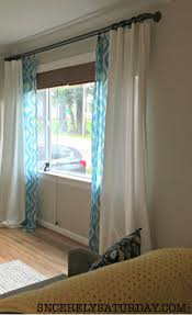 the best diy double curtain rod ever blogger bests