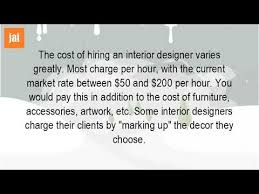 How Much Interior Designer Cost by Interior Design Cost My Home Design Interior