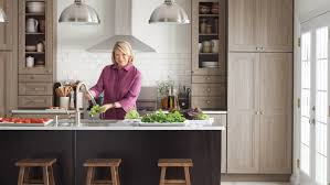 stone countertops martha stewart kitchen cabinets lighting