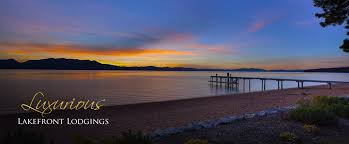 south lake tahoe lakefront vacation rentals buckingham luxury