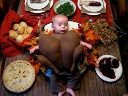 babies dressed as thanksgiving turkeys