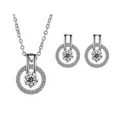 necklace set silver necklace set jeminee jewellery