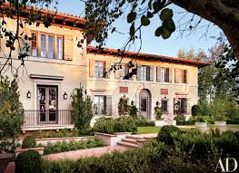 Brentwood California Celebrity Homes by James Belushi U0027s Mediterranean Villa In Los Angeles Architectural