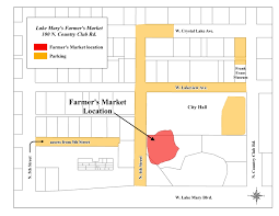 lake mary fl city of lakes farmers market map parking