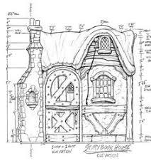 a storybook cottage design additional plans elevations details
