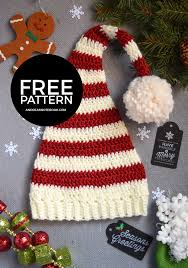 christmas hats for newborn to free crochet patterns