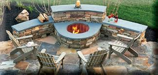 Firepit Ideas Magical Outdoor Pit Seating Ideas Area Designs