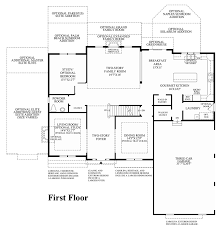 enclave at ridley creek the duke home design 1st floor floor plan
