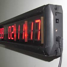 ledigtal led days countdown clock color 1 8 10