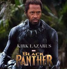 Tropic Thunder Meme - if robert downey jr acted as a black panther forfun