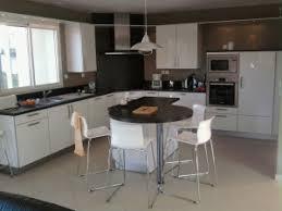 cuisine avec coin repas cuisine avec lot central pour la cuisson architects team ilot de