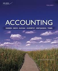 accounting volume 1 carl warren james reeve jonathan duchac