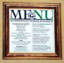 kooper u0027s chowhound burger wagon baltimore md u2013 left at the fork