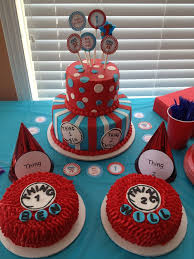 Thing One And Thing Two Party Decorations Best 25 Twins 1st Birthdays Ideas On Pinterest Twin Birthday