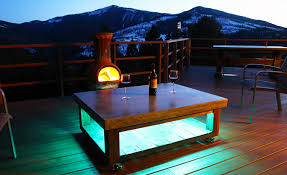 Coffee Tables With Led Lights Concrete Tops Archives Diy Projects With Pete