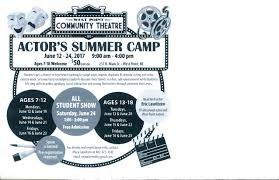home theater training acting camp details jpg