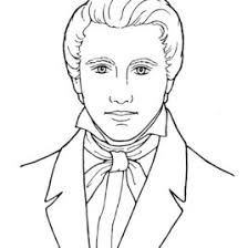 coloring pages coloring page joseph smith in coloring style kids