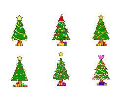 free cartoon christmas tree vectors vector art u0026 graphics