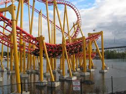 Six Flags Agawam Hours Mayan Roller Coaster U2013 Parkvault