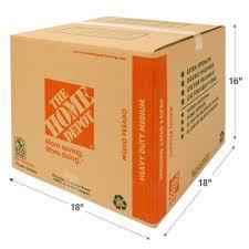 cardboard moving supplies storage u0026 organization the home depot