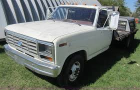 1986 Ford F350 Dump Truck - 1986 ford f350 flatbed pickup truck item h9834 sold oct