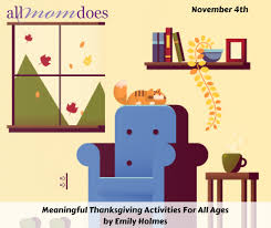 meaningful thanksgiving activities for all ages allmomdoes