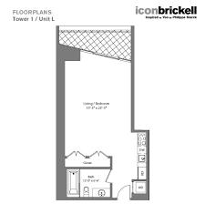 Icon Brickell Floor Plans Icon Brickell Cwv Realty