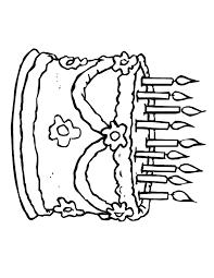 elsa snowflake presents cake birthday coloring page h u0026 m