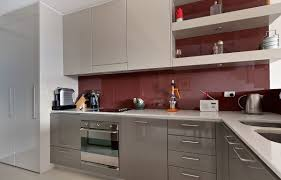 splashbacks for kitchens electric cooktop grey wall paint stand