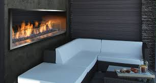 outdoor linear fireplaces barbara jean collection