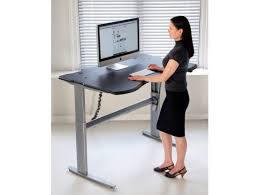 Sit Stand Desk Vancouver Motorized Or Crank Adjustable Level2 Standing Desk With Single