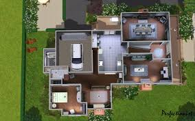 Cool Floor Plan by 100 Blueprints Houses House Behind House Plans Better Homes