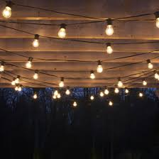 Light Bulb String Outdoor Fabulous How To String Patio Lights With Outdoor Edison Bulbs