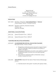 resume for teachers exles sle resumes substitute resume math objective exles