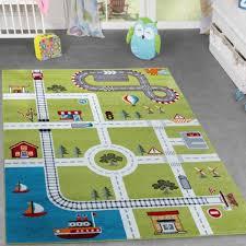tapis chambre d enfants chambre d enfant tapis tapis de jeu avec design city ville portuaire