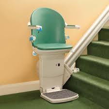 Lift Chair For Stairs Stair Nice Looking Stair Lift Design Idea With Green Lift Chair