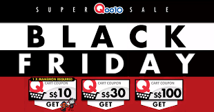 black friday coupons qoo10 is giving away free coupons up to 100 in their black friday