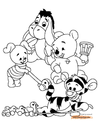 eeyore christmas coloring pages baby eeyore coloring pages xmas